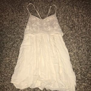 Lace and sequin Hollister dress